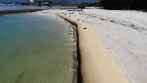 geotube installation