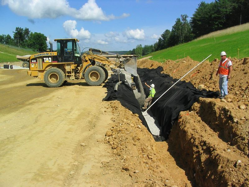 Drainage Filtration geosynthetics