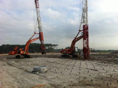 PVD/Geotextile Installation at Penang Second Bridge
