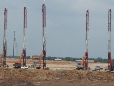 Prefabricated Vertical Drain Installation for KLIA 2